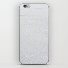 Snow Glitter iPhone Skin