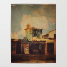 Fisherman Houses Poster
