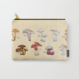 Pick a Peck of Deadly Mushrooms Carry-All Pouch