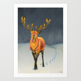 Midwinter Art Print