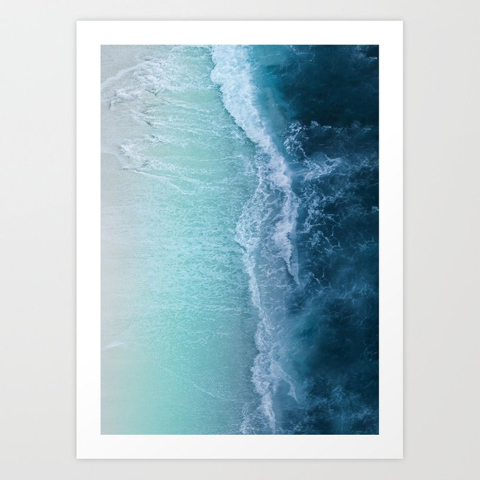 Discover the motif TURQUOISE SEA by Andreas12 as a print at TOPPOSTER