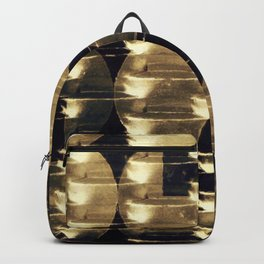 HANGING BY A THREAD/ Gold Backpack