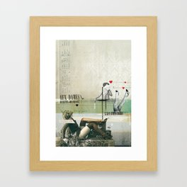 Beauté & Jeunesse Framed Art Print