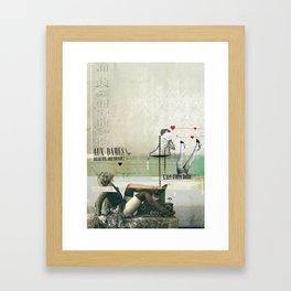 Beauté & Jeunesse Framed Art Print