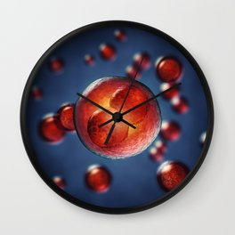 Egg cell Wall Clock