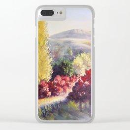 L allée des cotinus Clear iPhone Case