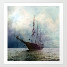 Fernweh for distant lands [expedition to Galapagos] Art Print