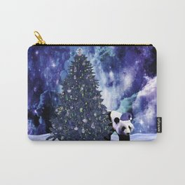 Panda's Christmas Holiday at the North Pole Carry-All Pouch