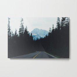 Canadian Road Metal Print
