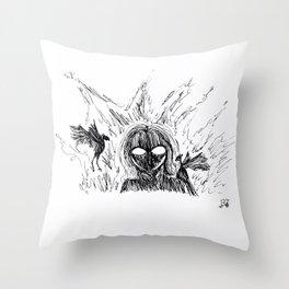 Inktober 2018: Day 19 Throw Pillow