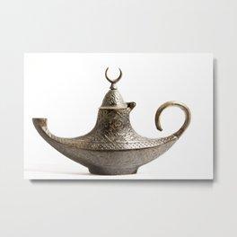 Turkish Lamp Metal Print