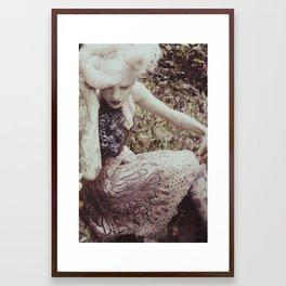 Violet Poison Framed Art Print