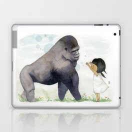 Hug me , Mr. Gorilla Laptop & iPad Skin