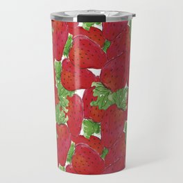 Strawberrys Travel Mug