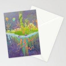 Aeolus 's flying island Stationery Cards
