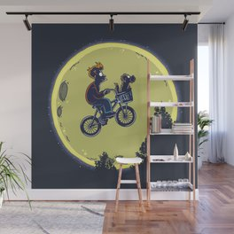 Fry me to the moon Wall Mural