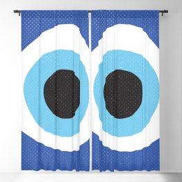 Evi Eye Symbol Blackout Curtain