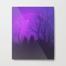 Nod and Blink Metal Print