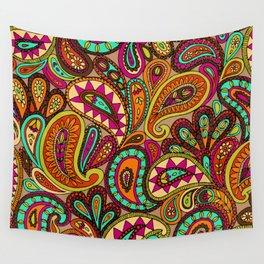 Basic Paisley  Wall Tapestry