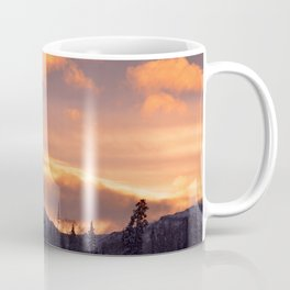 Flat Top Sunrise Coffee Mug