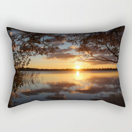 Sunset Lakes Rectangular Pillow