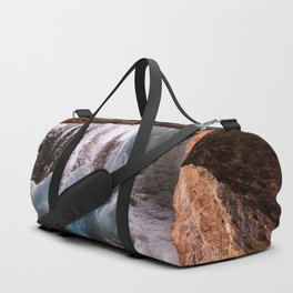 Hanging Lake Spouting Rock at Glenwood Canyon Glenwood Spring Area Colorado. Duffle Bag