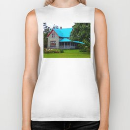 Ancestral Home by the Sea Biker Tank