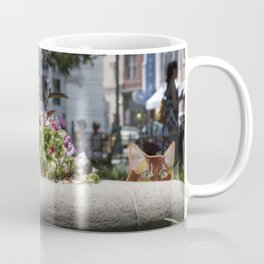 Sunning in Wright Square Coffee Mug