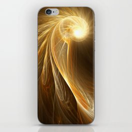 Golden Spiral iPhone Skin