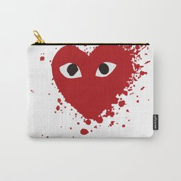 Play Comme des Garçons Bloody Carry-All Pouch
