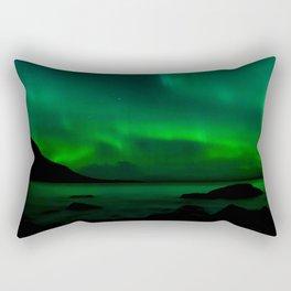 Northern Lights (Aurora Borealis) 14. Rectangular Pillow