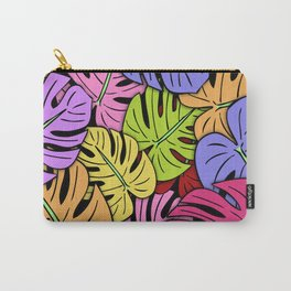 Monstera Leaves #5 Carry-All Pouch