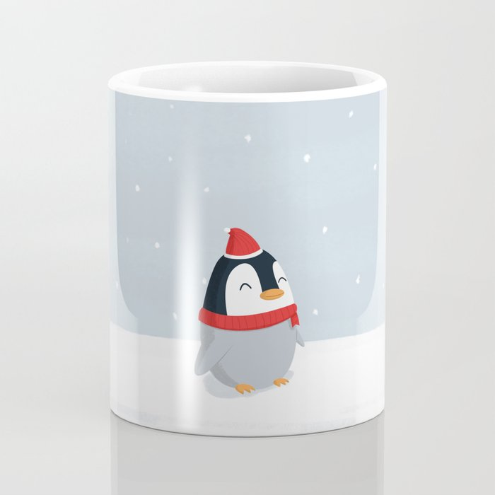 Christmas Penguin Coffee Mug