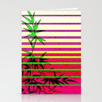 bamboo Stationery Cards featuring Bamboo by Mr and Mrs Quirynen