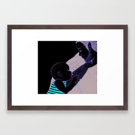 Modern Dads Framed Art Print