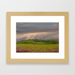 Rain Brings Life Framed Art Print