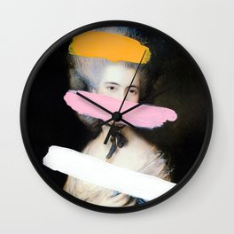 Brutalized Gainsborough 2 Wall Clock