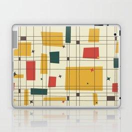 Mid-Century Modern (gold) Laptop & iPad Skin