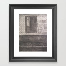 Mirror, Mirror Above The Couch... Framed Art Print