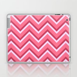 Pink Zig Zag Pattern Laptop & iPad Skin