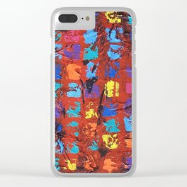 Abstract - The Truth in the Ashes Clear iPhone Case