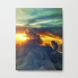 Above the Clouds I Metal Print