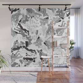 Wild Lines Wall Mural