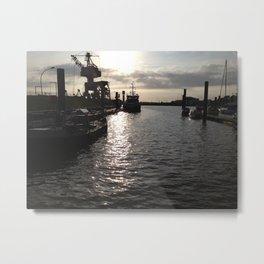 hh seaport Metal Print