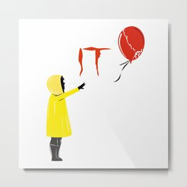 IT clown Pennywise Metal Print