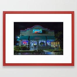 (MIAMI)xSUBS Framed Art Print