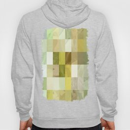 Pale Yellow Poinsettia 1 Abstract Rectangles 3 Hoody