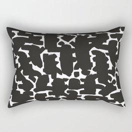 Brush strokes pattern #4 Rectangular Pillow