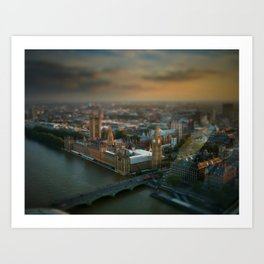 Little London #2 Art Print