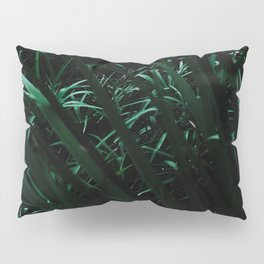 Grass blades basking in the sun - Abstract Pillow Sham